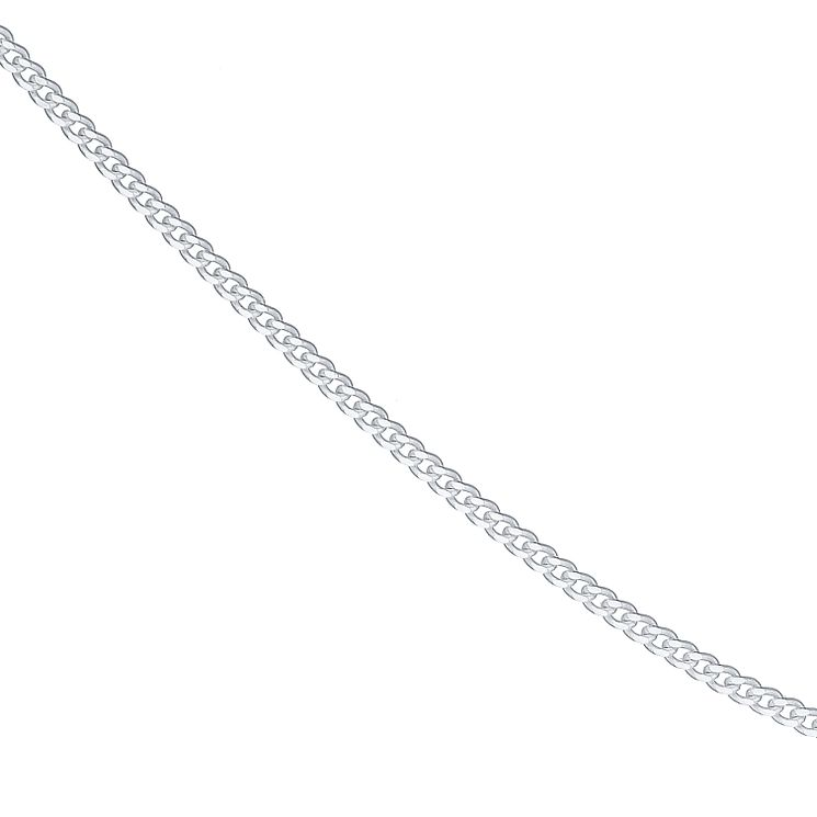 "Sterling Silver 24"" Curb Necklace - Product number 4437209"