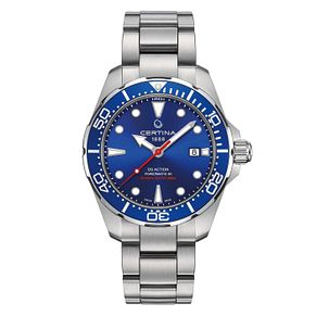 Certina DS Action Powermatic 80 Men's Blue Dial Watch - Product number 4440668