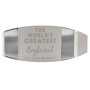 Personalised 'World's Greatest' Money Clip - Product number 4442083