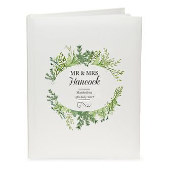Personalised Fresh Botanical Traditional Album - Product number 4442180