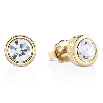 Guess Gold-Plated Solitaire Stud Earrings - Product number 4461282