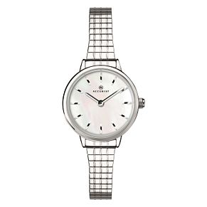 Accurist Ladies' Stainless Steel Expander Bracelet Watch - Product number 4463854