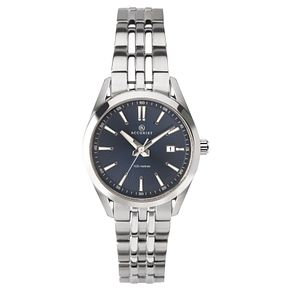 Accurist Ladies' Blue Dial Stainless Steel Bracelet Watch - Product number 4464117