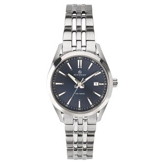 Accurist Signature Ladies' Blue Dial Stainless Steel Watch - Product number 4464117