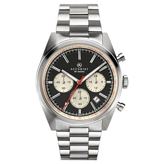 Accurist Signature Men's Stainless Steel Chronograph Watch - Product number 4464419
