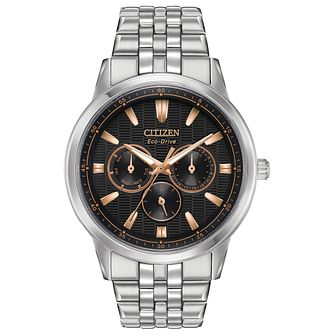 Citizen Eco-Drive Men's Corso Multi Function Two-Tone Watch - Product number 4467183