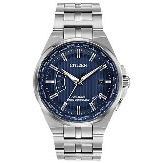 Citizen Eco-Drive Men's World Perpetual A.T Bracelet Watch - Product number 4467426
