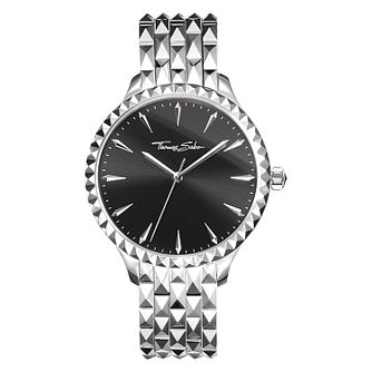 Thomas Sabo Rebel Stud Ladies' Black Bracelet Watch - Product number 4469151