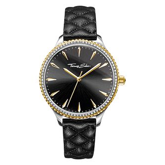 Thomas Sabo Rebel Ladies' Two Colour Stone Set Strap Watch - Product number 4469313