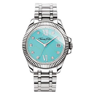 Thomas Sabo Divine Turquoise Ladies Stone Set Bracelet Watch - Product number 4469321