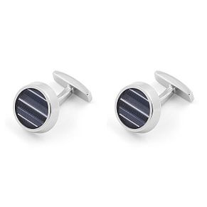 Hugo Boss Kay Bluestripe Brass Cufflinks - Product number 4469968