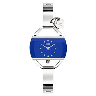 STORM Temptress Blue Ladies' Stainless Steel Bracelet Watch - Product number 4475895