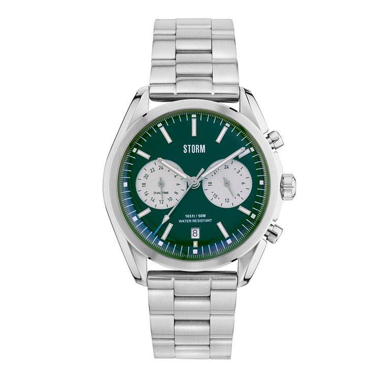 Storm Men's Round Green Dial Stainless Steel Bracelet Watch - Product number 4477677