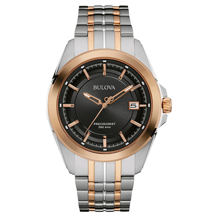 Bulova Precisionist Men's Stainless Steel Bracelet Watch - Product number 4488296
