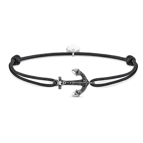 Thomas Sabo Secret Men's Black Anchor Bracelet - Product number 4491572