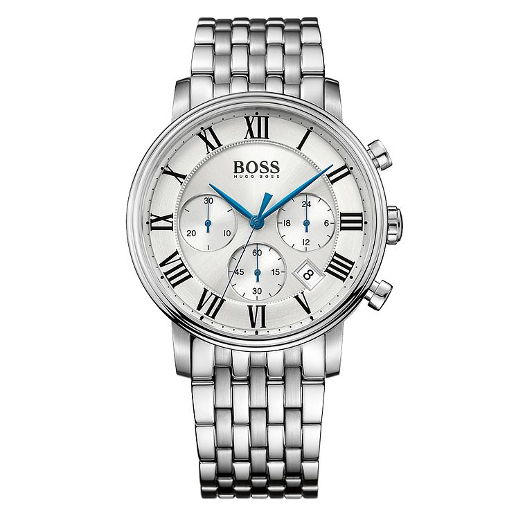 Hugo Boss Chronograph Men's Stainless Steel Bracelet Watch - Product number 4492013