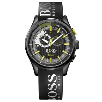 Hugo Boss Regatta Men's Ion Plated Strap Watch - Product number 4492110