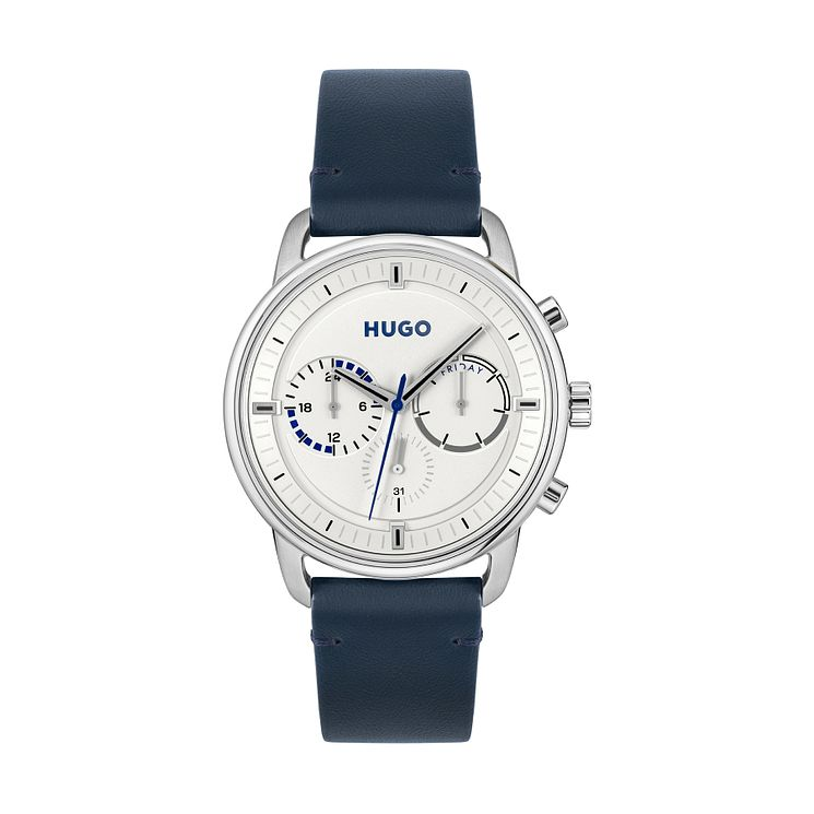 Fossil Men's Black Dial Stainless Steel Bracelet Watch - Product number 4492382