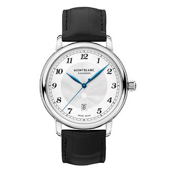 Mont Blanc Stainless Steel Starlegacy Strap Watch - Product number 4495128