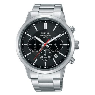 Pulsar Men's Chronograph Stainless Steel Bracelet Watch - Product number 4497910