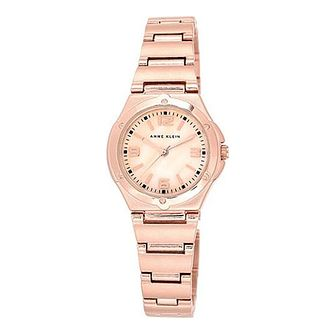 Anne Klein Ladies' Rose Gold-Plated Bracelet Watch - Product number 4500970