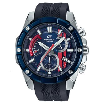 Casio Edifice Men's Toro Rosso Blue Resin Strap Watch - Product number 4503201