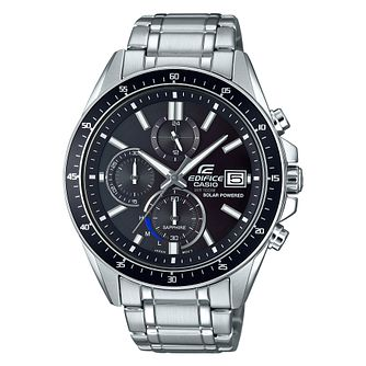 Casio Edifice Men's Solar Powered Steel Bracelet Watch - Product number 4503228