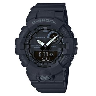 G-Shock Men's Bluetooth Step Tracker Black Strap Watch - Product number 4503465