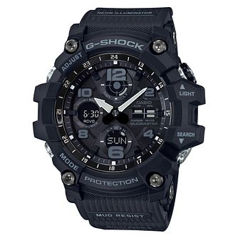 G-Shock Men's Mudmaster Shock Resistant Black Strap Watch - Product number 4503503