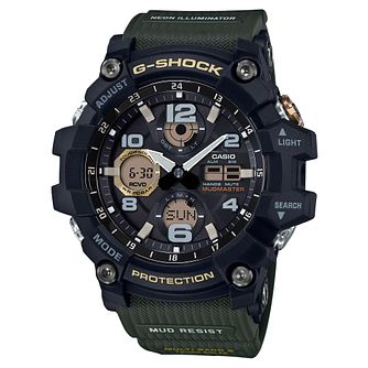 G-Shock Men's Mudmaster Shock Resistant Green Strap Watch - Product number 4503538