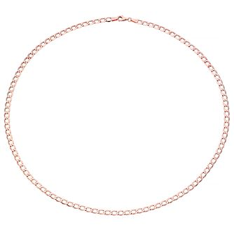 "9ct Rose Gold 20"" Curb Chain - Product number 4505387"