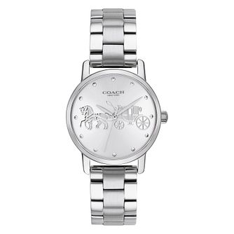 Coach Grand Ladies' Stainless Steel Bracelet Watch - Product number 4505476