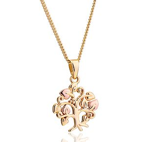 Clogau Two Tone Gold Tree of Life Pendant - Product number 4508866