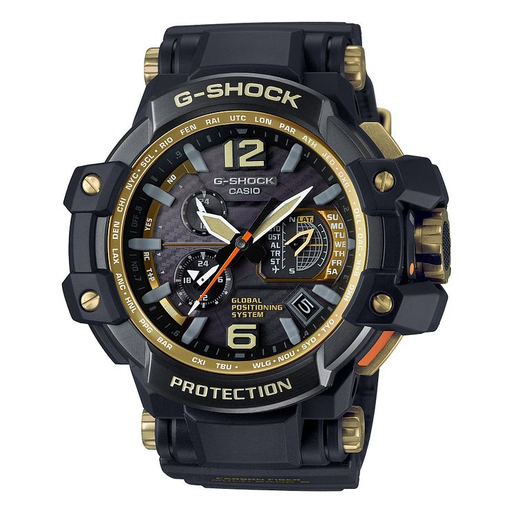 Casio G-Shock Gravity Men's Ion Plated Black Bracelet Watch - Product number 4510771