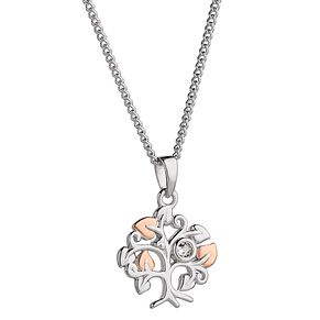 Clogau Sterling Silver & Gold Tree of Life Pendant - Product number 4511654