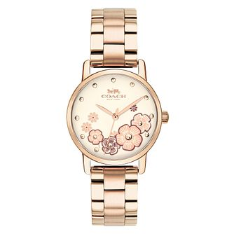 Coach Grand Ladies' Stainless Steel Bracelet Watch - Product number 4511778