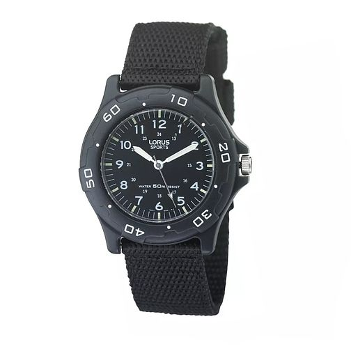 Lorus Children's Black Sports Watch - Product number 4516397