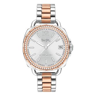 Coach Tatum Ladies' Two Colour Stone Set Bracelet Watch - Product number 4517199