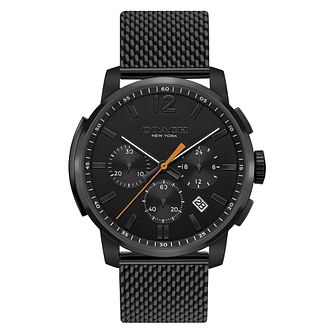 Coach Bleeker Men's Black Chronograph Bracelet Watch - Product number 4517350