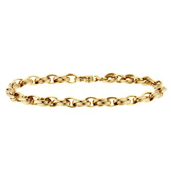 9ct Yellow Gold Link Bracelet - Product number 4518284