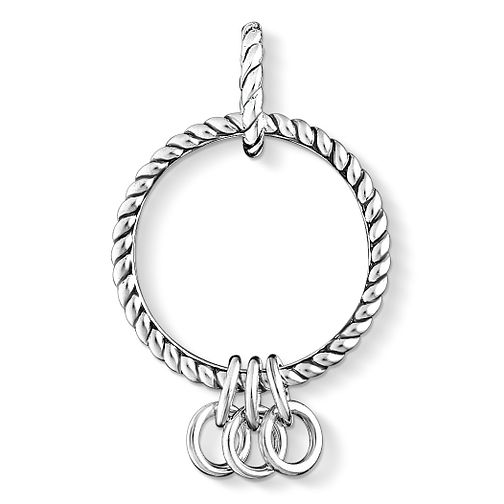 Thomas Sabo Charm Club Sterling Silver Rope Charm Carrier - Product number 4524322
