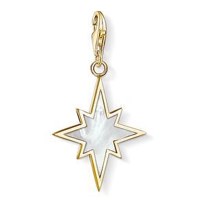 Thomas Sabo Charm Club Yellow Gold Plated Star Charm - Product number 4524608