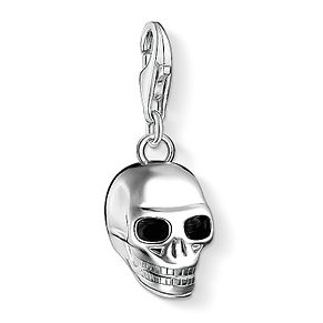 Thomas Sabo Charm Club Sterling Silver Small Skull Charm - Product number 4524624