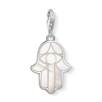 Thomas Sabo Charm Club Sterling Silver Hand of Fatima Charm - Product number 4524667