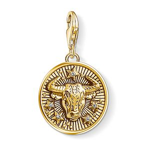 Thomas Sabo Charm Club Gold Plated Taurus Charm - Product number 4529952