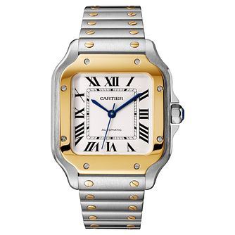 Cartier Santos Ladies' Square Bracelet and Strap Watch - Product number 4530217
