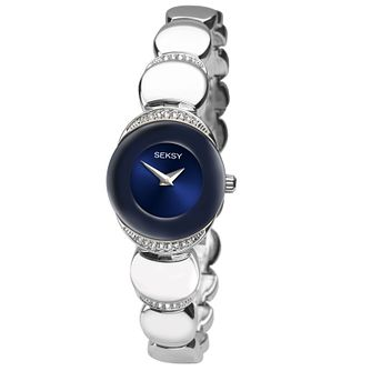 Seksy Ladies' Sapphire Stainless Steel Watch - Product number 4546482