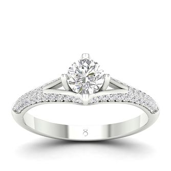 The Diamond Story 18ct White Gold 3/4 Carat Diamond Ring - Product number 4563034