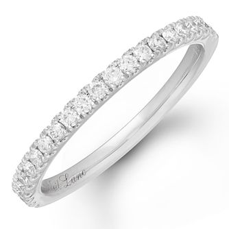 Neil Lane 14ct White Gold 0.26ct Diamond Shaped Band - Product number 4563875