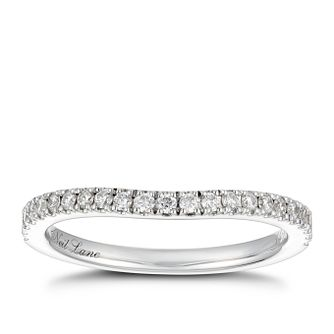 Neil Lane 14ct White Gold 0.23ct Diamond Shaped Band - Product number 4568133